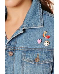 Forever 21 - Multicolor Rainbow Enamel Pin Set - Lyst