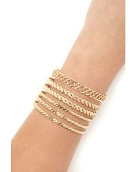 Forever 21 | Metallic Spiral Bangle Set | Lyst