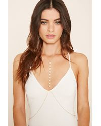 Forever 21 | Natural Iridescent Body Chain | Lyst