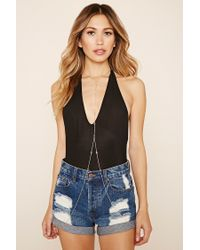 Forever 21 | White Draped Body Chain | Lyst