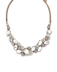 Forever 21 - Metallic Cubic Zirconia Necklace - Lyst
