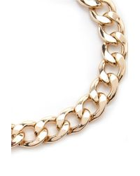 Forever 21 | Metallic Chain Statement Necklace | Lyst