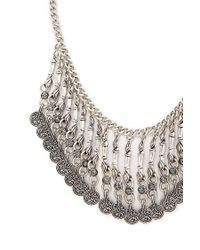 Forever 21 - Metallic Ornate Statement Necklace - Lyst