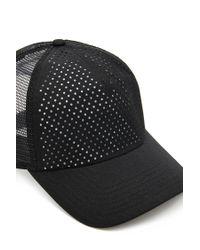 Forever 21 Black Active Reflective Mesh Hat for men