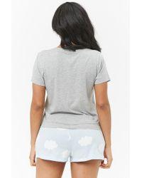 Forever 21 - Gray Women's Cloud 09 Pyjama Set - Lyst
