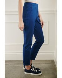 Forever 21 - Blue Slim Chino Pants - Lyst