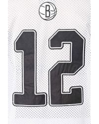 Forever 21 - White Nba Brooklyn Nets Jersey - Lyst