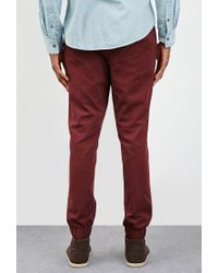 Forever 21 | Purple Chino Drawstring Joggers for Men | Lyst