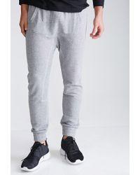 Forever 21 | Gray Kangaroo Pocket Sweatpants for Men | Lyst