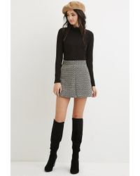 Forever 21 - Black Classic Turtleneck Top - Lyst