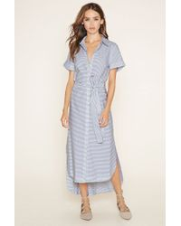 Forever 21 - White The Fifth Label Striped Dress - Lyst