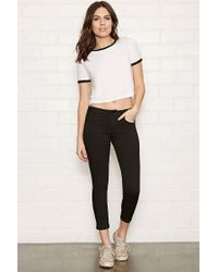 Forever 21 - Black The Beverly Low-Rise Jeans - Lyst