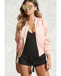 c5ec9443b Women's Pink Classic Bomber Jacket