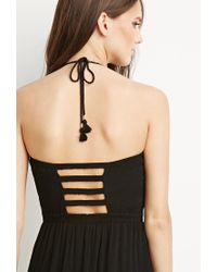 Forever 21 - Black Tiered A-line Dress - Lyst