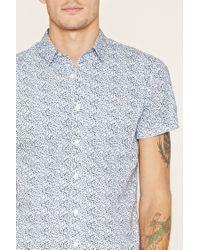 Forever 21 - Multicolor Floral Print Pocket Shirt for Men - Lyst