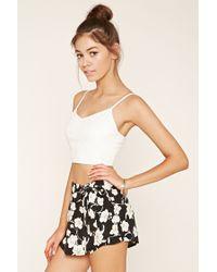 Forever 21 | Multicolor Floral Mini Skirt | Lyst