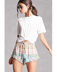 Forever 21 | Multicolor Z&l Europe Floral Shorts | Lyst