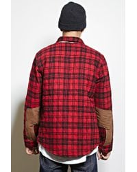 Forever 21 - Red Cohesive Co. Plaid Jacket for Men - Lyst