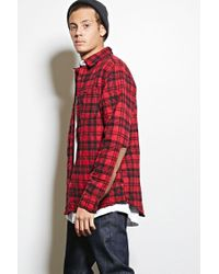 Forever 21 | Red Cohesive Co. Plaid Jacket for Men | Lyst