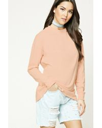 Forever 21 | Multicolor Cotton Dropped-sleeve Tee | Lyst