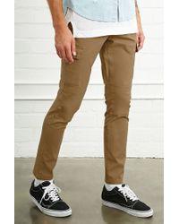 Forever 21   Black Slim-fit Cargo Pants for Men   Lyst