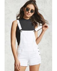 Forever 21 | Gray Ribbed Mock Neck Crop Top | Lyst