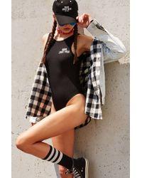Forever 21 Black Vision Street Wear Bodysuit