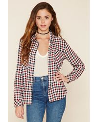 Forever 21 | Multicolor Gingham Plaid Shirt | Lyst