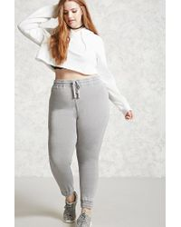 Forever 21 | Gray Plus Size Faded Sweatpants | Lyst