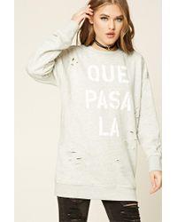 Forever 21 | Multicolor Que Pasa La Graphic Sweatshirt | Lyst