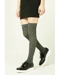 Forever 21 | Green Over-the-knee Socks | Lyst