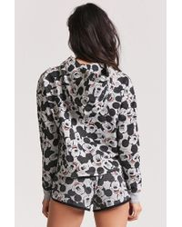 Forever 21 - Multicolor Mickey Mouse Graphic Pyjama Hoodie - Lyst