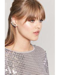 Forever 21 - Metallic Cluster Earrings - Lyst