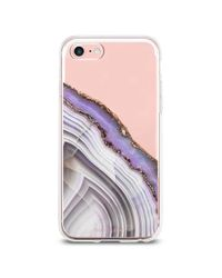 Forever 21 Blue The Casery Geo Stone Case For Iphone 7