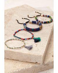Forever 21 - Blue -inspired Bracelet Set - Lyst