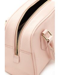 Forever 21 - Pink Faux Leather Satchel Bag - Lyst