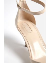 Forever 21 - Natural Faux Suede Pumps - Lyst