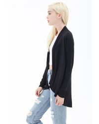 Forever 21 - Black Classic Knit Cardigan - Lyst