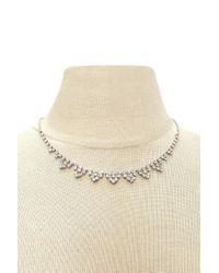 Forever 21 - Metallic Rhinestone Jewelry Set - Lyst