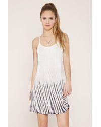 Forever 21 - Multicolor Tie-dye Mini Dress - Lyst