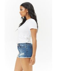Forever 21 - White She Said Graphic Tee - Lyst