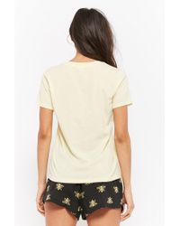 Forever 21 - Multicolor Bee's Knees Graphic Pyjama Set - Lyst
