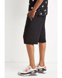 Forever 21 Black Zip-pocket Sweatshorts for men