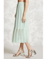 Forever 21 - Multicolor Contemporary Tulle Skirt - Lyst