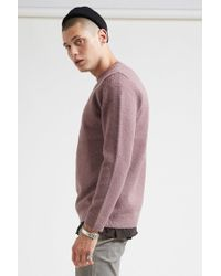Forever 21 | Purple Marled Knit Sweater for Men | Lyst