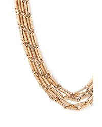 Forever 21 - Metallic Chain Layered Necklace - Lyst