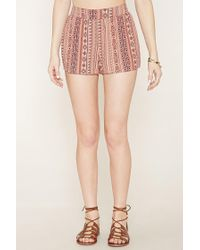 Forever 21 - Multicolor Print Shorts - Lyst