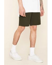 Forever 21 - Green Cotton Shorts for Men - Lyst