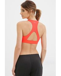 Forever 21 - Red High Impact - Mesh-racerback Sports Bra You've Been Added To The Waitlist - Lyst