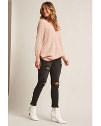 Forever 21 - Multicolor Honeycomb Knit Top - Lyst